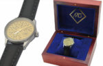 M& watch - individually engraved with your name and the serial # of your mic.